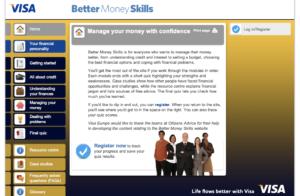 Better Money Skills website image